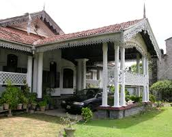 entry portico colonial house moratuwa sri lanka flickr