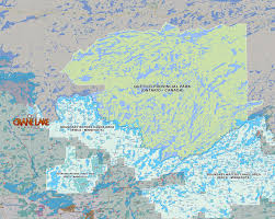 Canada National Parks Map by Bwca Quetico Canada Crane Lake Mn Areavisit Crane Lake