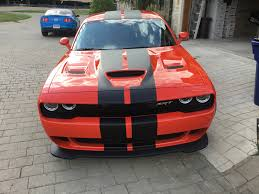 Dodge Challenger Orange - new