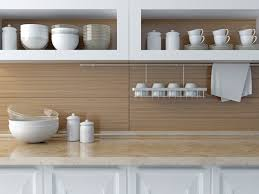 open shelving and other kitchen design trends that an organizer