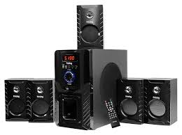 home theater stereo amazon com frisby fs 5000bt 5 1 surround sound home theater