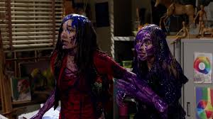 mayan halloween costume image riley u0026 maya 3x06 paint fight png meets world