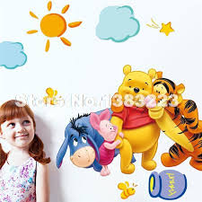 Winnie The Pooh Sofa Wallpaper For Kids Picture More Detailed Picture About Baby Bear