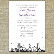 las vegas wedding invitations vegas wedding invitation wording