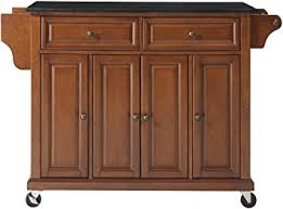 kitchen trendy kitchen island cart granite top coaster oak