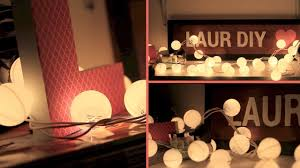 Modern Chic Home Decor Diy Room Decor Christmas Lights To Bubble Lights Youtube