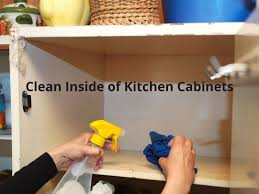 how to clean inside of cabinets clean inside of kitchen cabinets thumbs up cleaning service