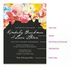 wedding invitation wording etiquette hosting whatstobuy