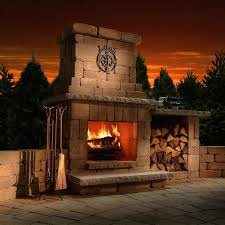 Landmann Grandezza Outdoor Fireplace by Outdoor Fireplaces Outdoor Living Tbook Com