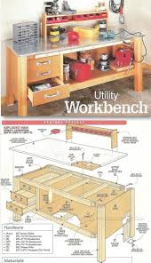 bench garage workbench wonderful metal work bench diy workbench