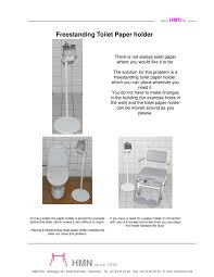 freestanding toilet paper holder hmn pdf catalogue technical