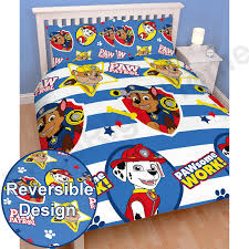 Childrens Bedroom Bedding Sets Kids Disney And Character Double Duvet Cover Sets Marvel Paw