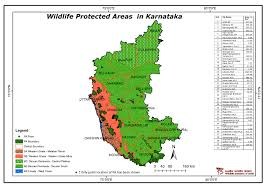 eastern and western ghats maps of protected areas in india
