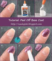 in case you don u0027t know yet glue works as a base coat for