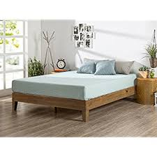 No Bed Frame Zinus 12 Inch Deluxe Wood Platform Bed No Boxspring