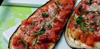 cuisine des aubergines aubergines grillées à la tomate et au parmesan facile et pas cher