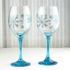 christmas glasses christmas wine glass painting ideas 25 unique christmas wine