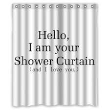 Shower Curtains With Quotes Dance Love Sing Live Flower Quotes Design Mildew Proof Polyester