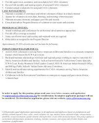 Origin Resume Download Casa Of Yellowstone County Is Hiring Program Coordinator Rocky