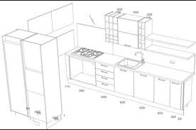 kitchen cabinet design dimensions kitchen cabinet drawing at getdrawings free