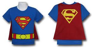 kids caped costume shirts u2013 superman batman robin wonder woman