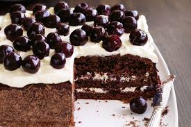 rich black forest cake