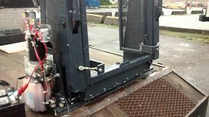 hydraulic ricon wheelchair lift youtube
