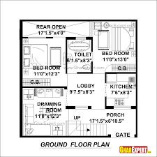 duplex house plans of 100 sq yards modern hd