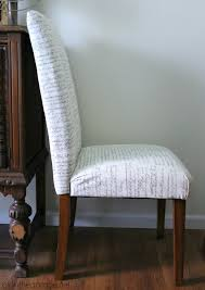 How To Upholster Dining Room Chairs How To Reupholster A Dining Chair Straying From Your