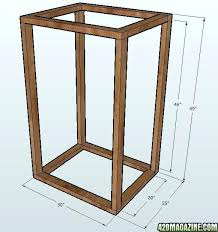 building a grow cabinet diy grow cabinet plans homedesignview co