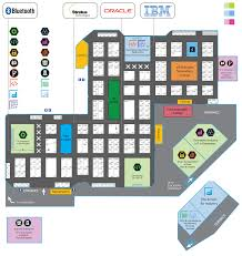 exhibit at iot event floorplan iot tech expo north america
