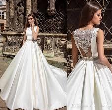 high wedding dresses 2011 discount 2017 millanova lace wedding dresses high neck a line