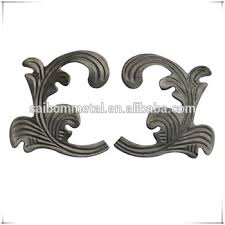 wrought iron ornaments for fence parts buy wrought iron ornaments