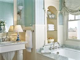 Blue And White Bathroom Accessories by White Color And Light For Breezy Bathroom Decor