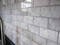 Carrara Subway Tiles Home Depot Square Foot WHAT Who - Marble backsplash tiles