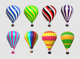 free balloons free hot air balloon transparent png renders designercandies