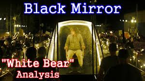 black mirror waldo explained black mirror analysis white bear youtube