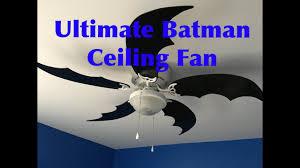 themed ceiling fan diy batman themed ceiling fan