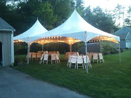 backyard tent party home outdoor decoration