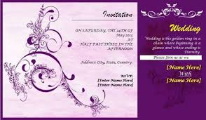 Indian Wedding Card Samples Indian Wedding Invitation Card Template Psd Matik For