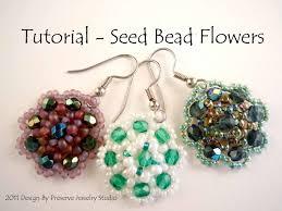 seed bead tutorial earring tutorial earring pattern seed
