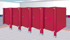 Bradley Bathroom Accessories by Wall Hung Partition Laminate Professional Sanitary Floor