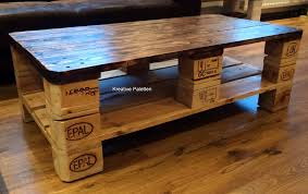 Patio Table Made From Pallets by Euro Pallet Wood Coffee Table 99 Pallets