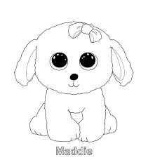 beanie boo coloring pages coloring