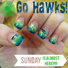 my awesome seahawk nails by jonathan u0027s nail salon and spa go