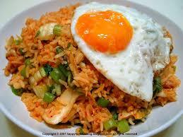 membuat nasi goreng cur telur recipes nasi goreng jawa javanese fried rice indonesian food