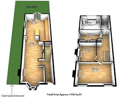 second floor extension plans small victorian end of terrace with a double storey side return