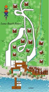 Roatan Map Resort Map Luna Beach Resort Best Scuba Diving On Roatan