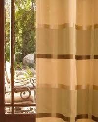Stripe Drapery Fabric Marino Mist Richloom Fabric Poly Faux Silk Taffeta Stripe