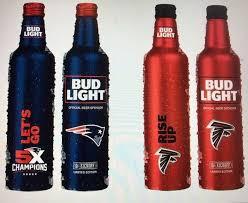 bud light aluminum bottles nfl bud light bringing back nfl team branded beer packaging will sell